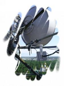 ЦРРЛ – цифровая радиорелейная линия.