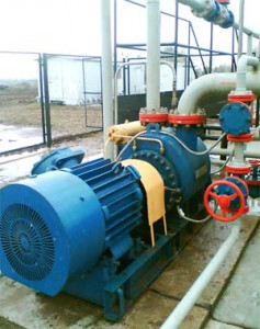 Регулируемый электропривод насоса