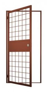 Описание решетчатых дверей
